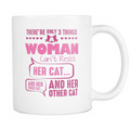 There are only 3 things a woman can't resist Mug - MyUnistyles