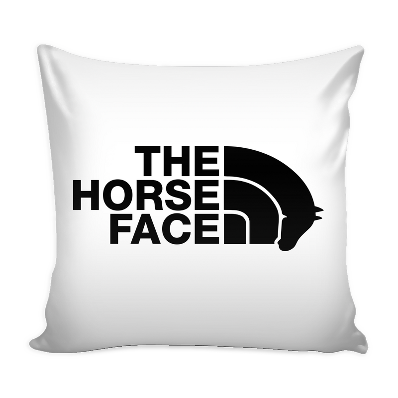 The Horse Face Pillow Cover - MyUnistyles