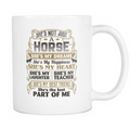 My Horse Is The Best Part Of Me Mug - MyUnistyles