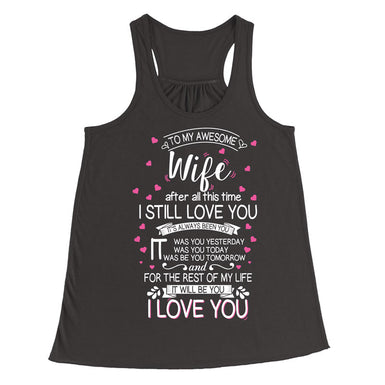 I love my wife forever T-Shirt - MyUnistyles