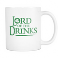 Lord of the Drinks Mug - MyUnistyles
