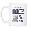 So many books, so little time Mug - MyUnistyles