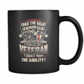 I had the right to remain silent but being a Veteran I didn't have the Ability! Mug - MyUnistyles