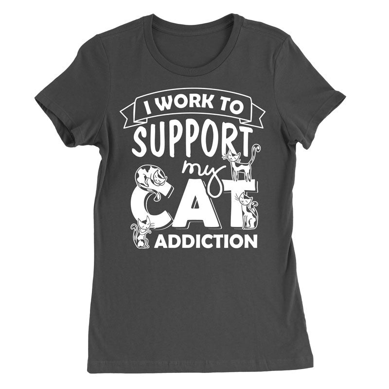 I work to support my Cat Addiction - MyUnistyles