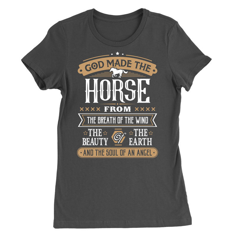 God made the horse from the best T-Shirt - MyUnistyles