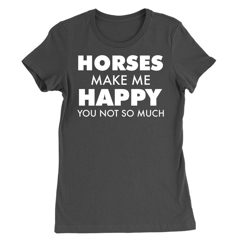 Horses make me happy, you not so much - MyUnistyles