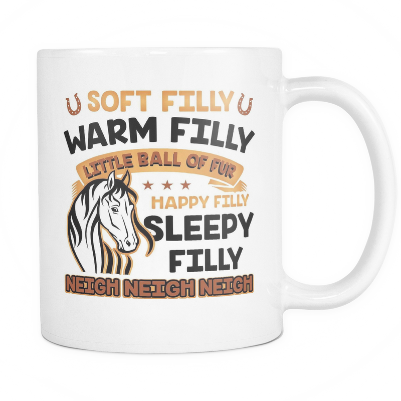 Warm Filly Soft Filly Mug - MyUnistyles
