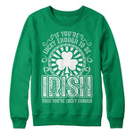 If you're lucky enough to be Irish then you're lucky enough - MyUnistyles
