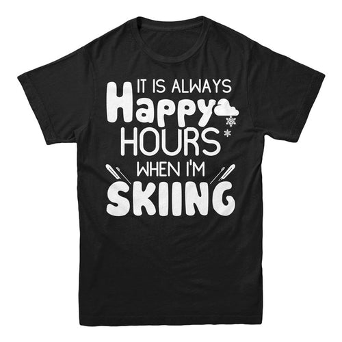 It's always happy hours when I'm Skiing - MyUnistyles