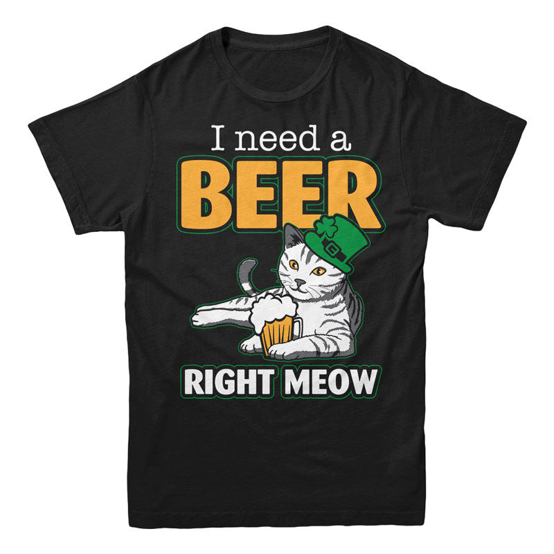 I need a Beer, Right Meow - MyUnistyles