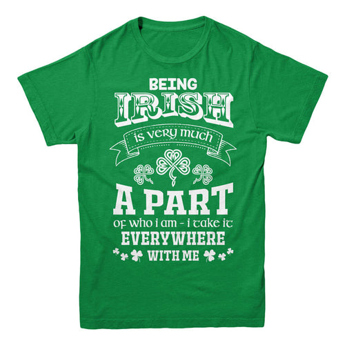 Being Irish is very much a part of who i am i take it everywhere with me - MyUnistyles