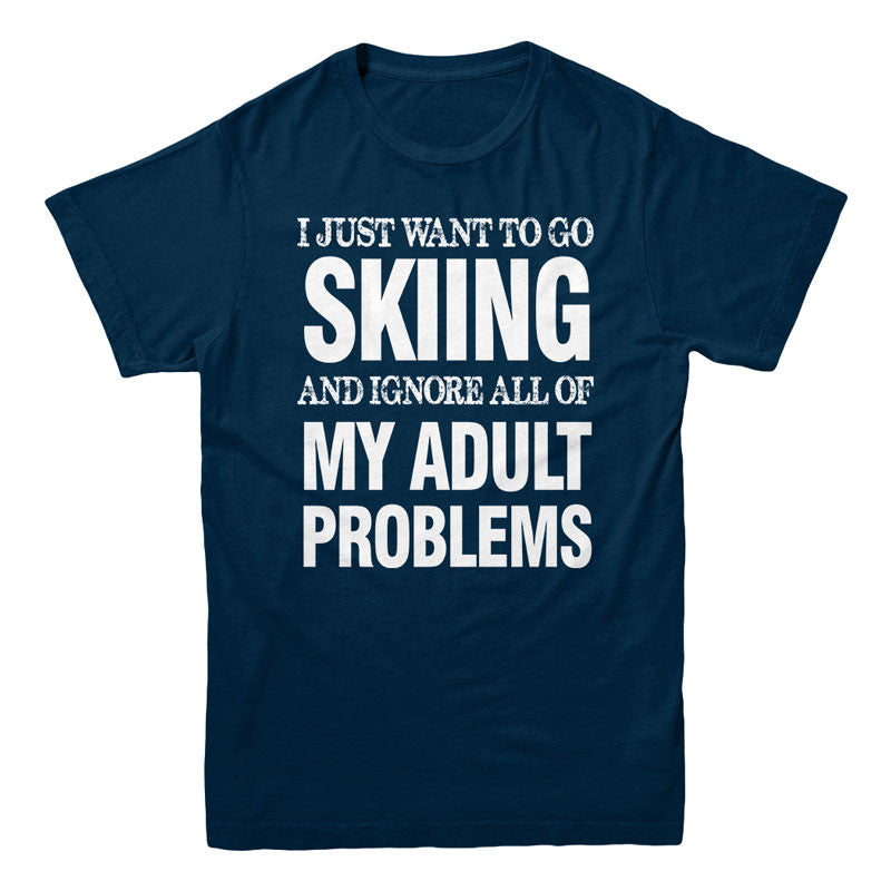 Skiing and ignore all adult problems - MyUnistyles