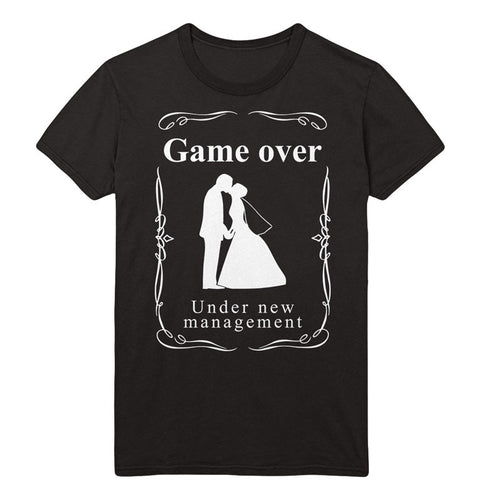 Game over Under New Management T-Shirt