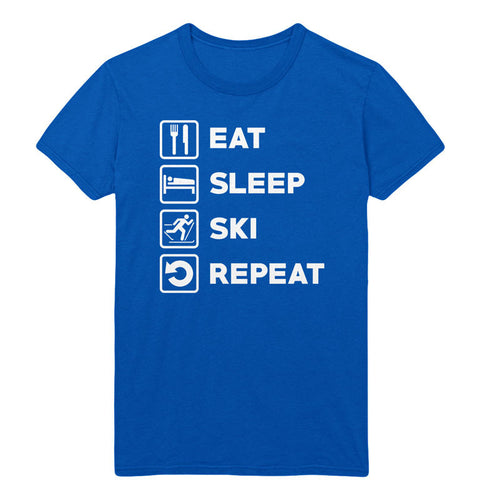 Eat Sleep Ski Repeat - MyUnistyles