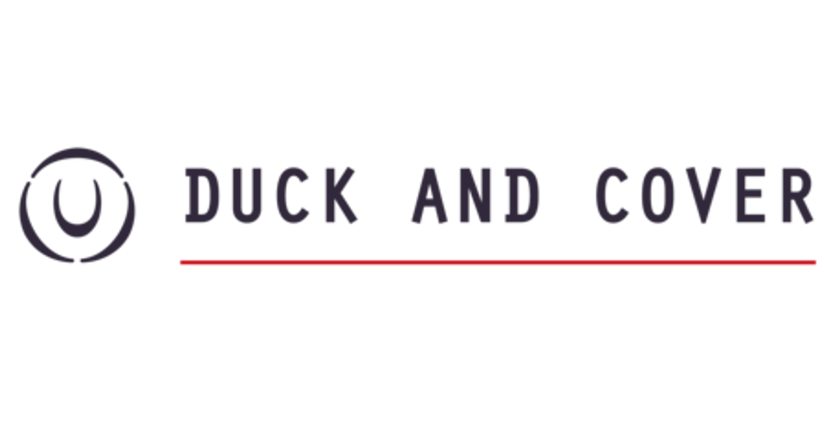 Duck And Cover Official Online Store