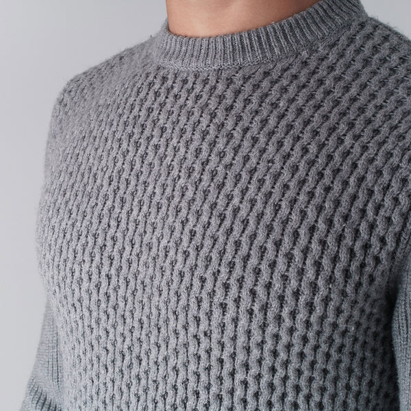 Beam Knit - Grey Marl