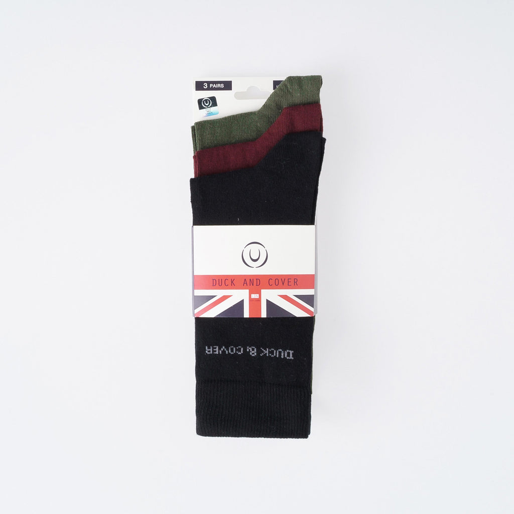 Bowker Socks - Assorted 3pk
