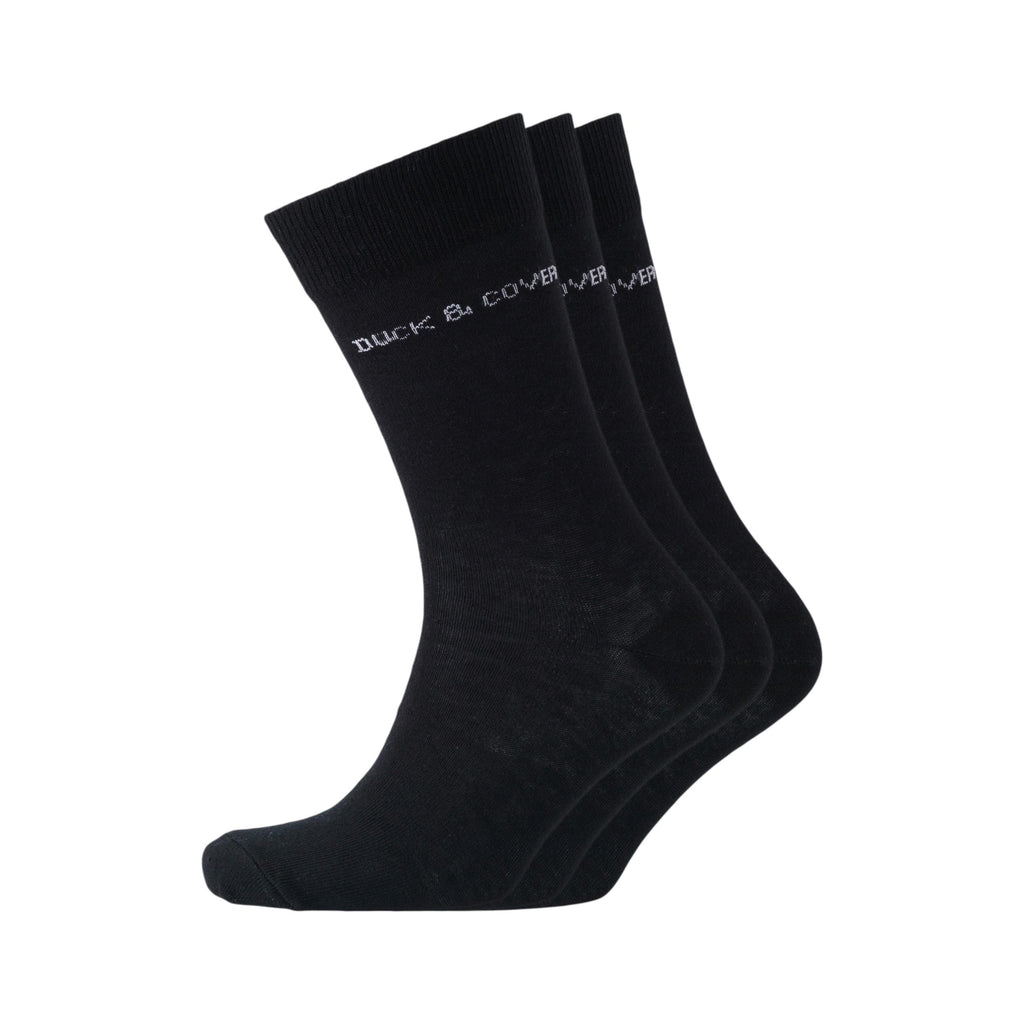 Crimson Socks - Black 3pk