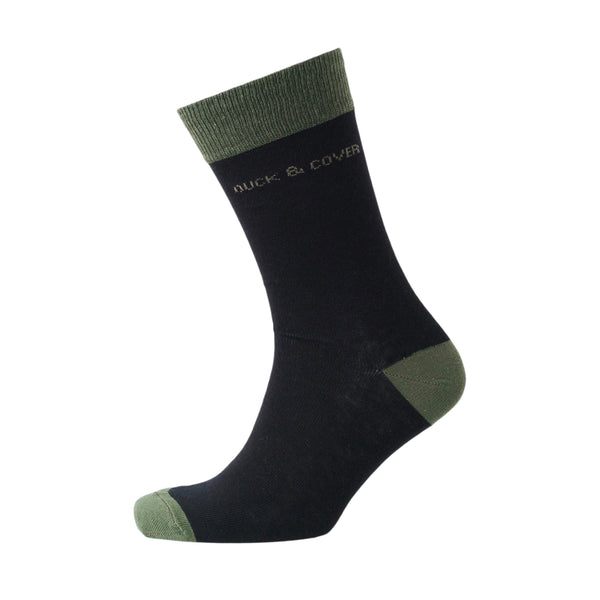 Kinsley Socks - Light Grey Marl/Dark Grey 5pk