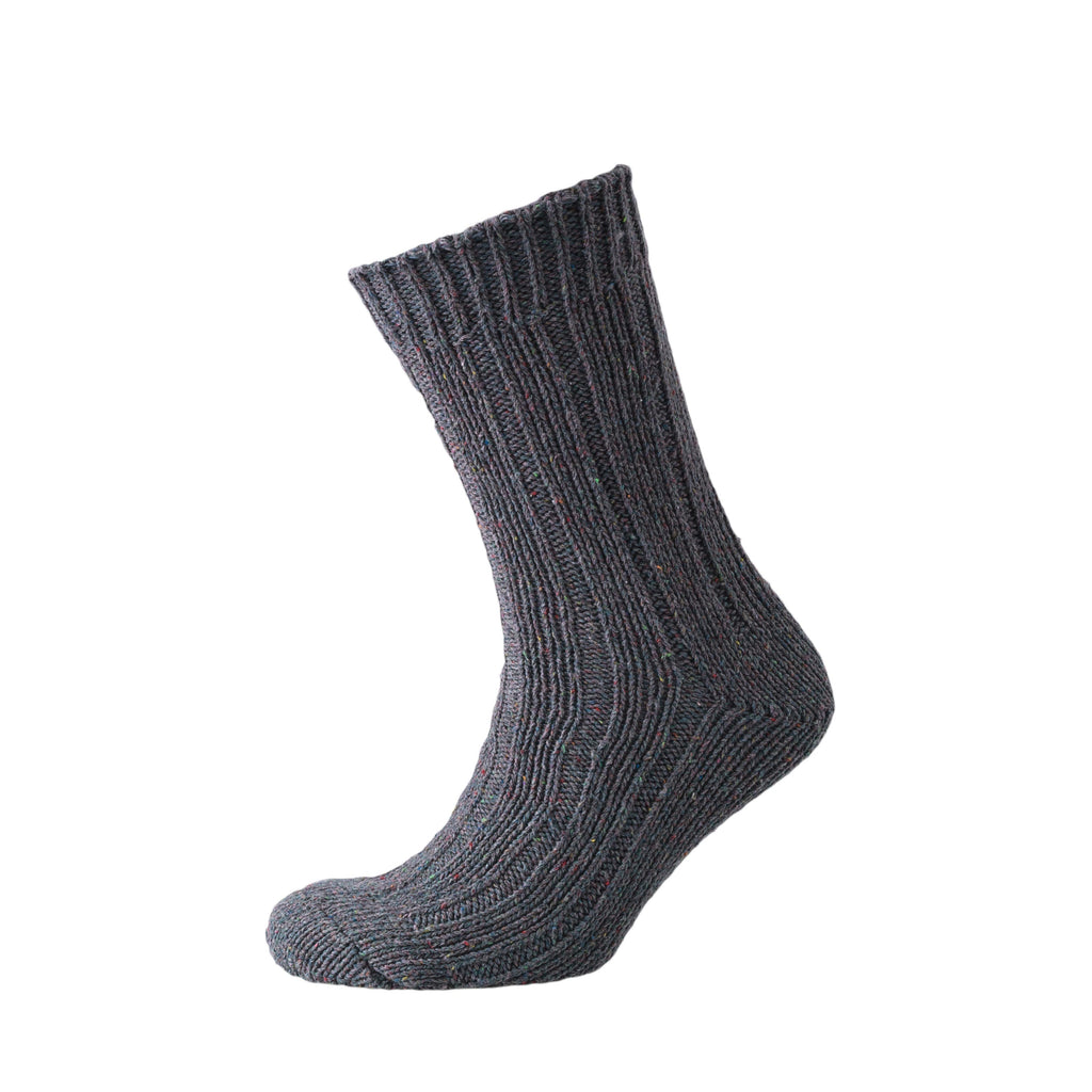 Mosby Boot Socks - Light Grey Marl/Dark Grey 2pk