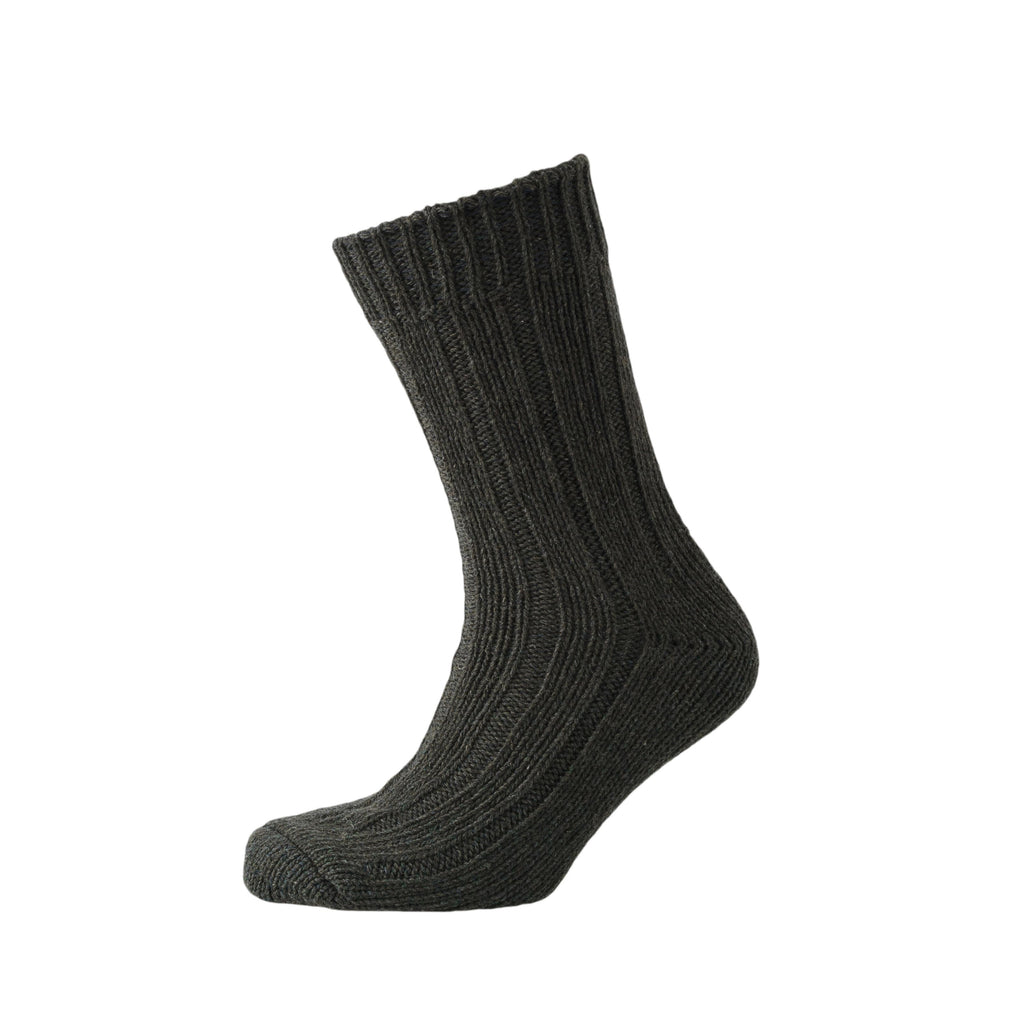 Mosby Boot Socks - Dark Green/Charcoal 2pk