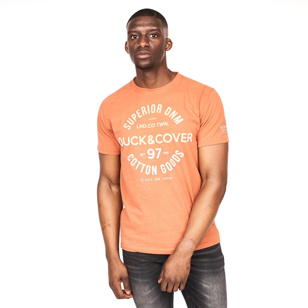 Chertsey T-Shirt Baked Clay