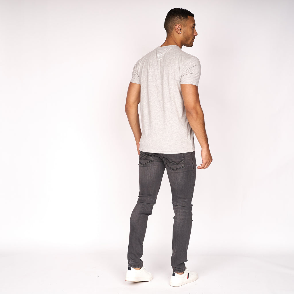 Slimtex T-Shirt Grey Marl
