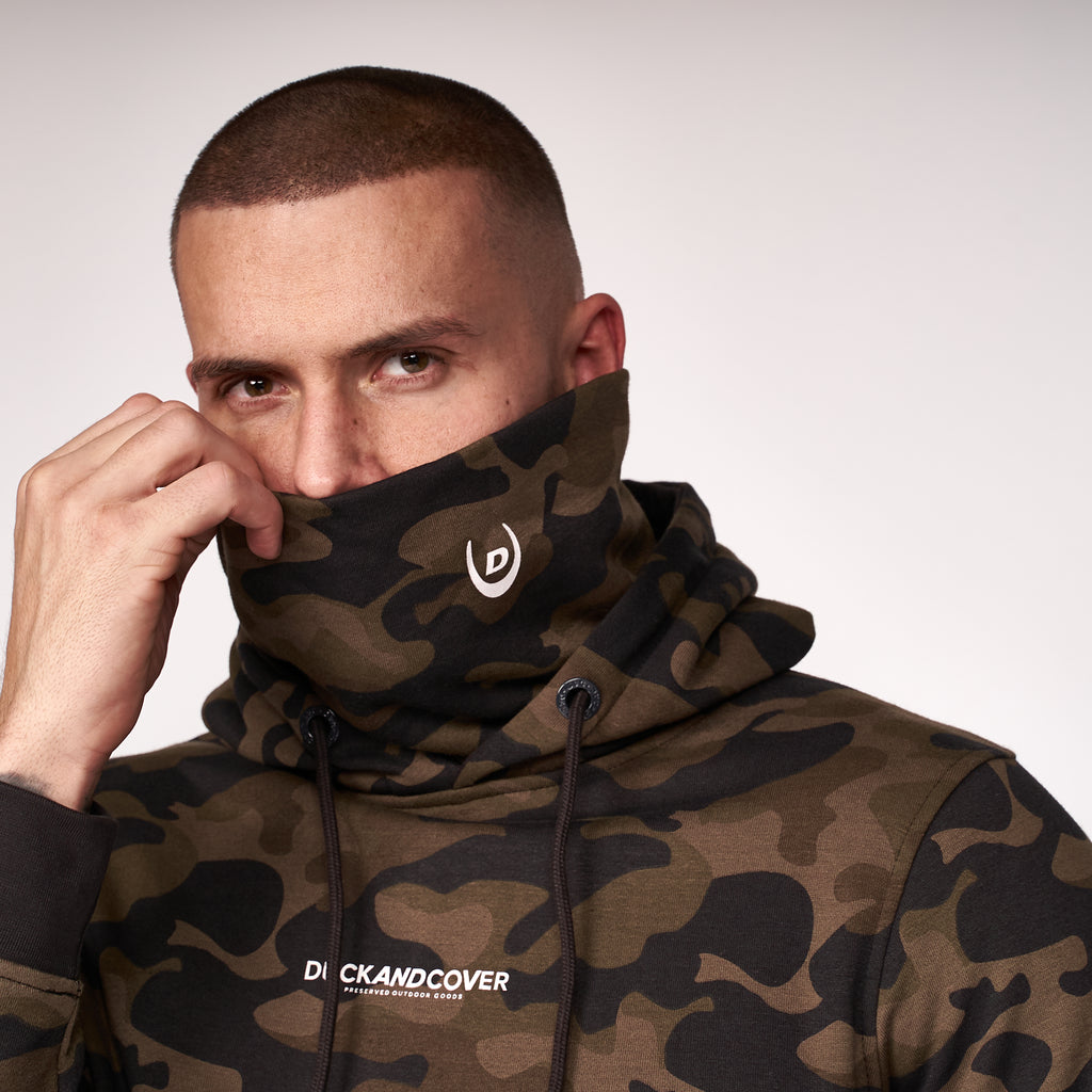 Highfield Hoodie Forest Camo