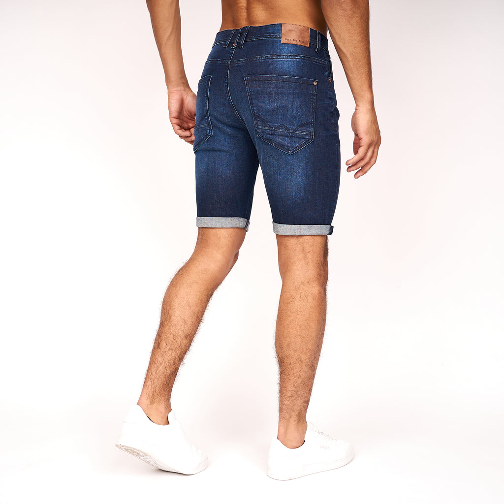 Zeki Shorts Dark Wash