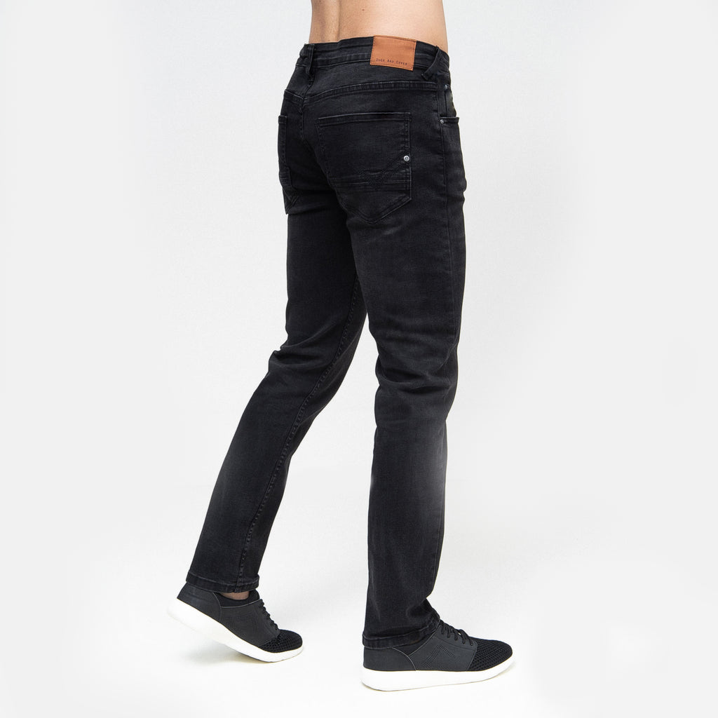 Harlequin Slim Fit Jeans Black