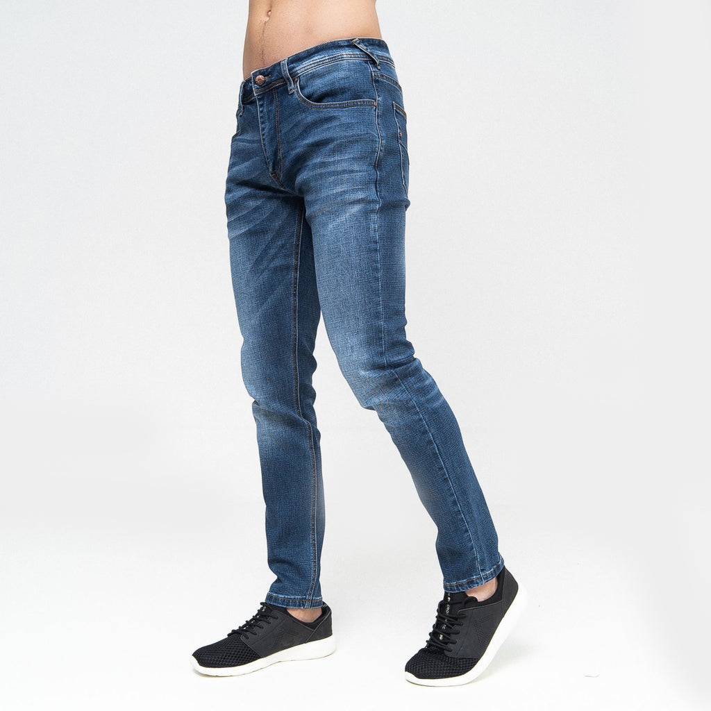 Overburg Tapered Jeans Stone Wash