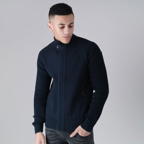Astern Cardigan - Deep Navy