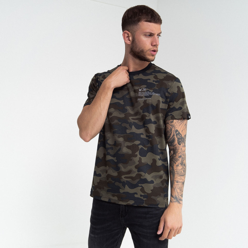 Mobley T-Shirt Forest Camo