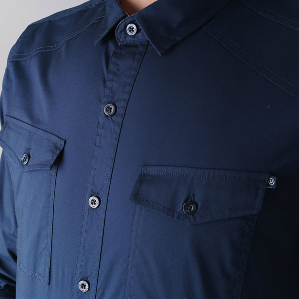 Reynold Shirt - Navy