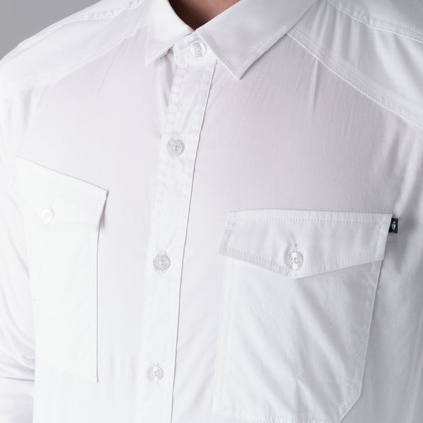 Reynold Shirt - White