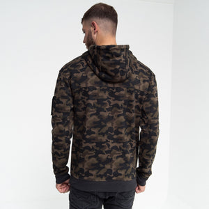 Wingrove Hoodie Forest Green