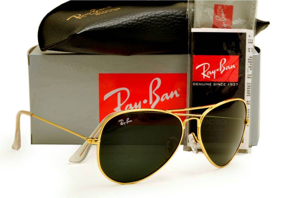 012cc2a3f7bd5 Ray Ban Aviator Sunglasses RB3025 Gold Frame Black Lens – SunGlassStore