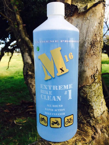# 1 M16 EXTREME BIKE CLEAN 1 litre with cap - FREE UK DELIVERY