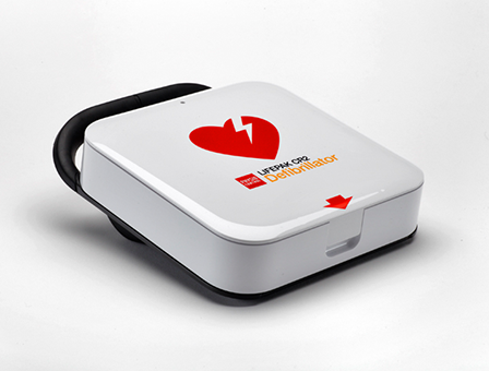 LIFEPAK CR2 Defibrillator with LIFELINKcentral AED Program Manager – Semi Automatic Wifi/3G. Includes Carry Case