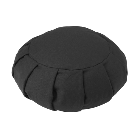 The Round Zafu cushion is the traditional design for a meditation cushion. Our zafu cushion is double stitched and pleated for extra strength and comes with a carry handle making it easy to transport.