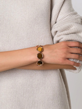Voyager Tiger'S Eye Toggle Bracelet