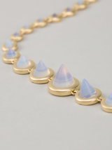graduated opal cone necklace