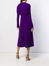 L/S Dolman Midi Dress