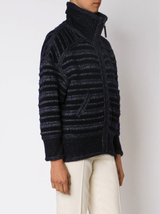 reversible knit jacket