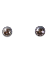 pave smiley face earrings