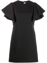Peplum Sleeve Dress