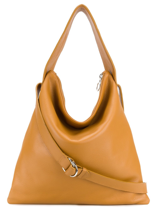 Maj tan shoulder bag