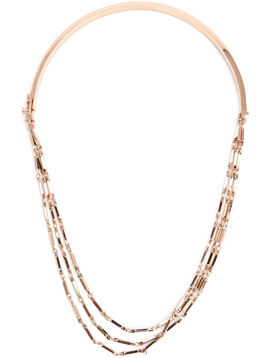 peaked chain necklace