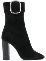 Black Joplin suede boot