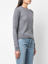 Billy cropped classic crew dyed
